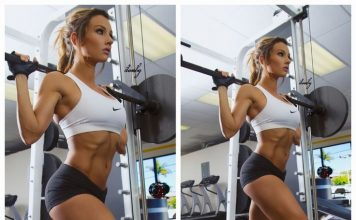 Legs Exercises - Health Fitness India - Paige Hathaway - Fitness Model - 1