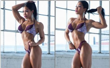 Triceps Exercises - Health Fitness India - Tina Nguyen - Fitness Model - 1