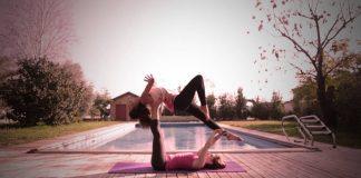 Acro Yoga Exercise - Health Fitness India - 1