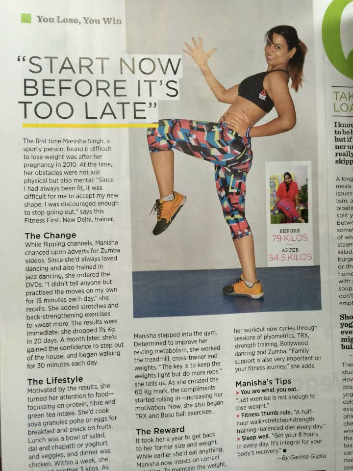 Manisha Singh | Health Fitness India