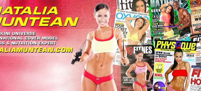 Fitness Model Natalia Muntean - Health Fitness India