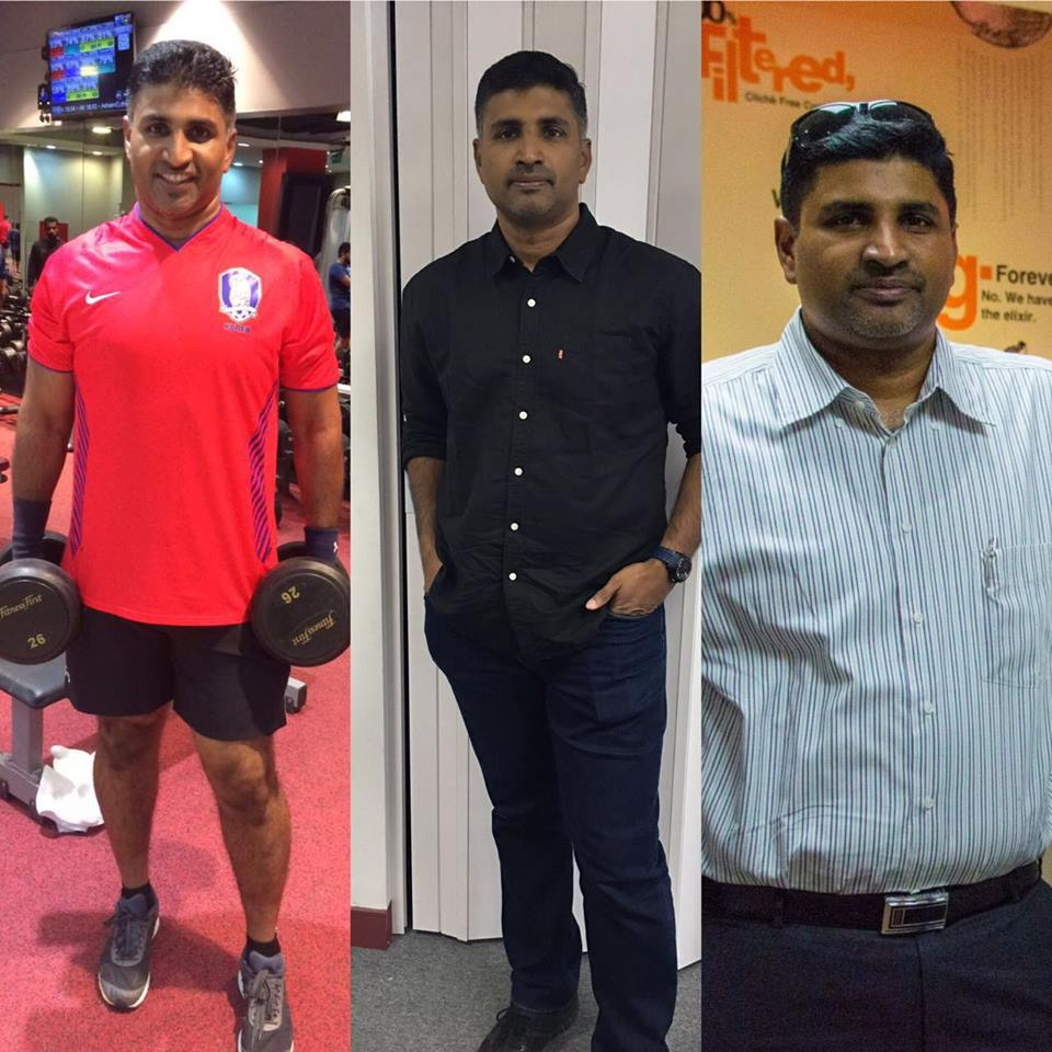 Dubai Client of Personal Fitness Trainer Abhinav Malhotra - Health Fitness India