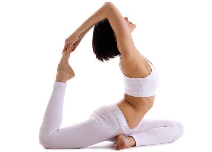Hatha Yoga Exercise - Health Fitness India - 1