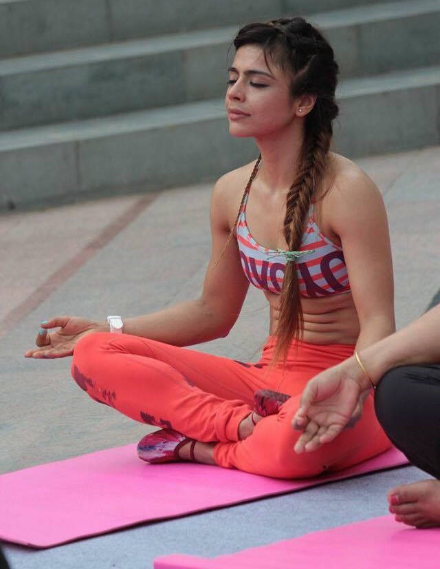 Doctor Yoga Pilates Totalbarre LesMills Fitness Instructor Shubhra Arora - Health and Fitness India